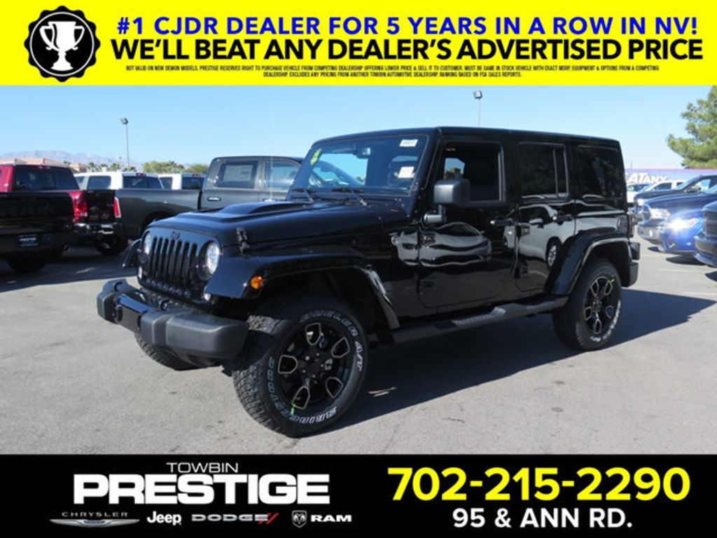 2018 Jeep Wrangler JK Unlimited Altitude 4x4 - 17131154 - 0
