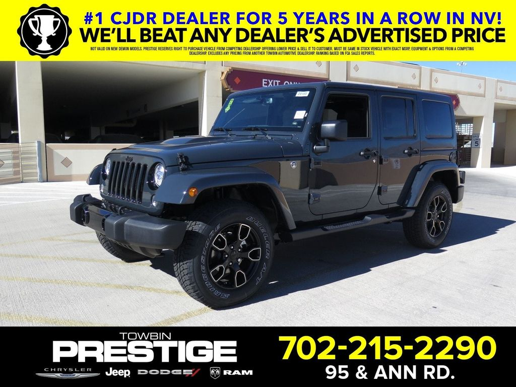 2018 Jeep Wrangler JK Unlimited Altitude 4x4 - 17236964 - 0