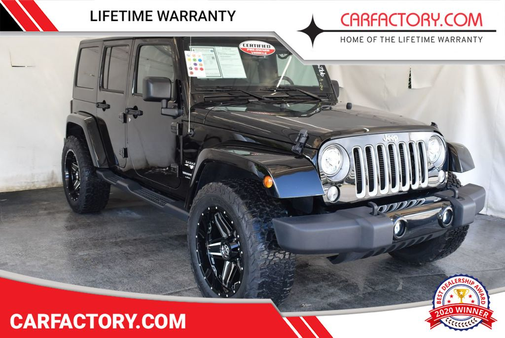 2018 Jeep Wrangler JK Unlimited SAH4 - 18161909 - 0
