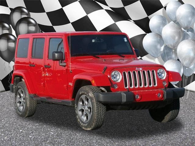 2018 Jeep Wrangler JK Unlimited Sahara 4x4 - 18215745 - 0