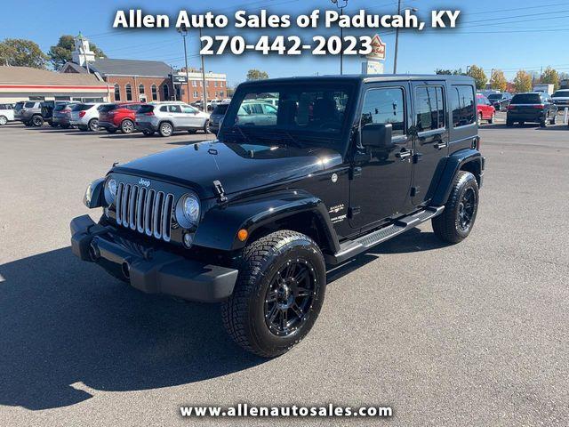 2018 Jeep Wrangler JK Unlimited Sahara 4x4 SUV for Sale Paducah, KY -  $32,900 - Motorcar com
