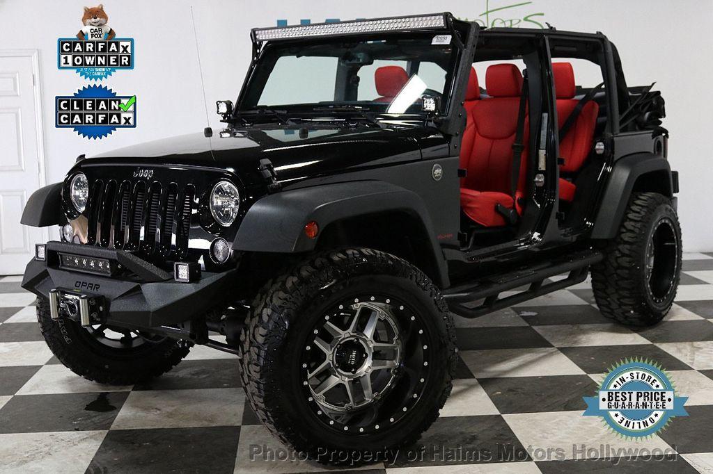 2018 Jeep Wrangler JK Unlimited Sport S 4x4 - 18216409 - 0