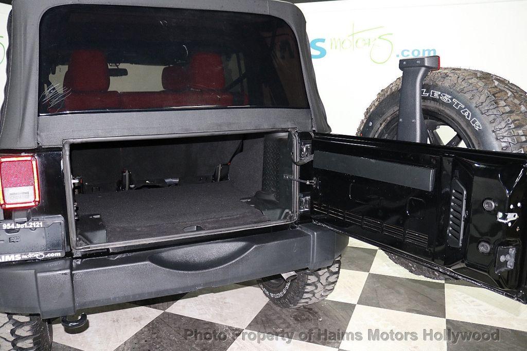 2018 Jeep Wrangler JK Unlimited Sport S 4x4 - 18216409 - 20