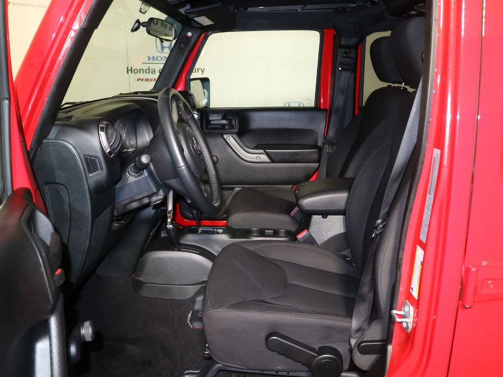 2018 Used Jeep Wrangler Jk Unlimited Sport At Honda Of Under Seat Storage 18147206 29