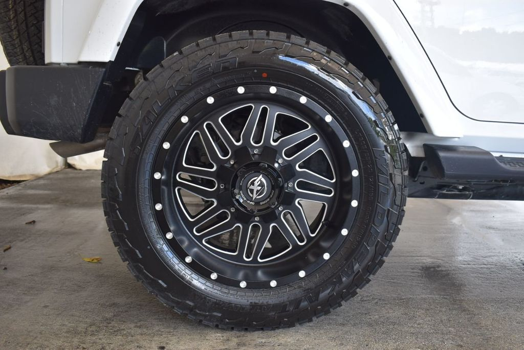 2018 Jeep Wrangler JK Unlimited WHITE - 18161910 - 9