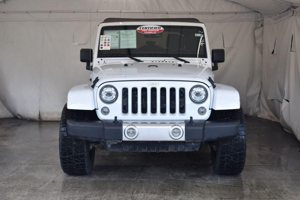 2018 Jeep Wrangler JK Unlimited WHITE - 18161910 - 3