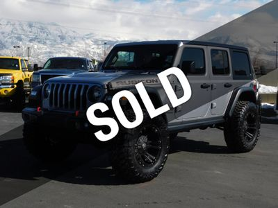Lifted Jeep Wrangler >> 2018 Used Jeep Wrangler Unlimited Rubicon At Watts Automotive Serving Salt Lake City Provo Ut Iid 19375008