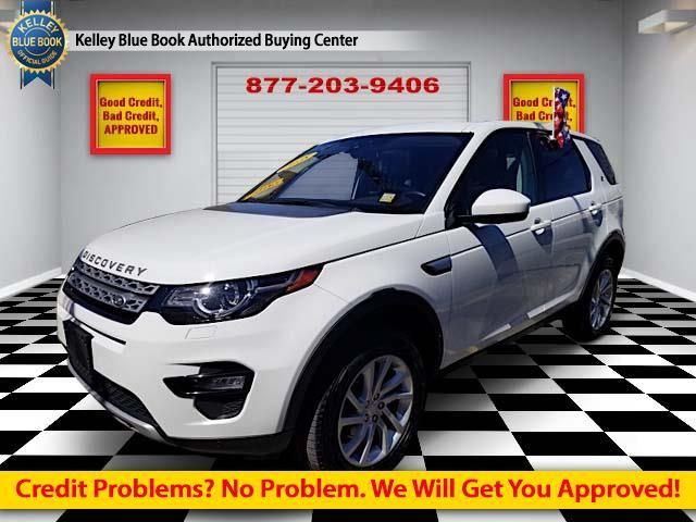 2018 Used Land Rover Discovery Sport Hse 4wd At Comfort Used Cars