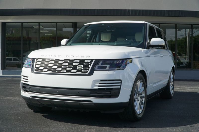2018 Land Rover Range Rover V6 Supercharged HSE SWB - Click to see full-size photo viewer