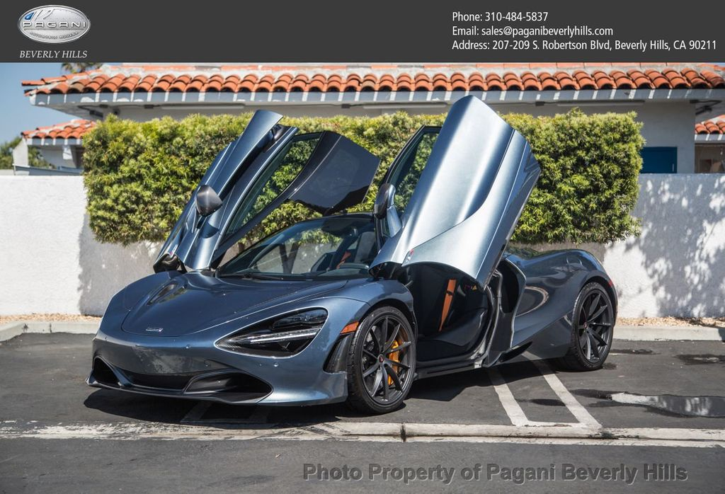 2018 used mclaren 720s at pagani beverly hills, ca, iid 17609148