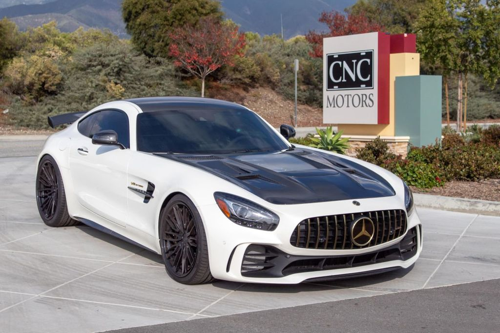 Mercedes Benz Amg Gt >> 2018 Used Mercedes Benz Amg Gt R Coupe At Cnc Motors Inc Serving Upland Ca Iid 19387715