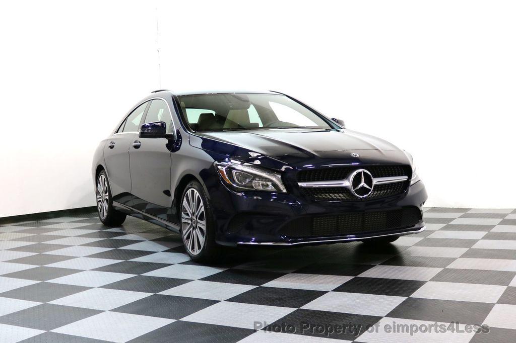 2018 Mercedes-Benz CLA CERTIFIED CLA250 4Matic AWD Adapt Suspension CAM NAV - 17614154 - 16