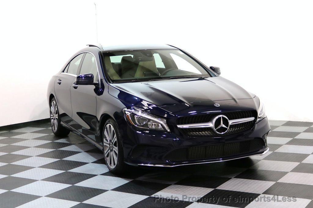 2018 Mercedes-Benz CLA CERTIFIED CLA250 4Matic AWD Adapt Suspension CAM NAV - 17614154 - 1