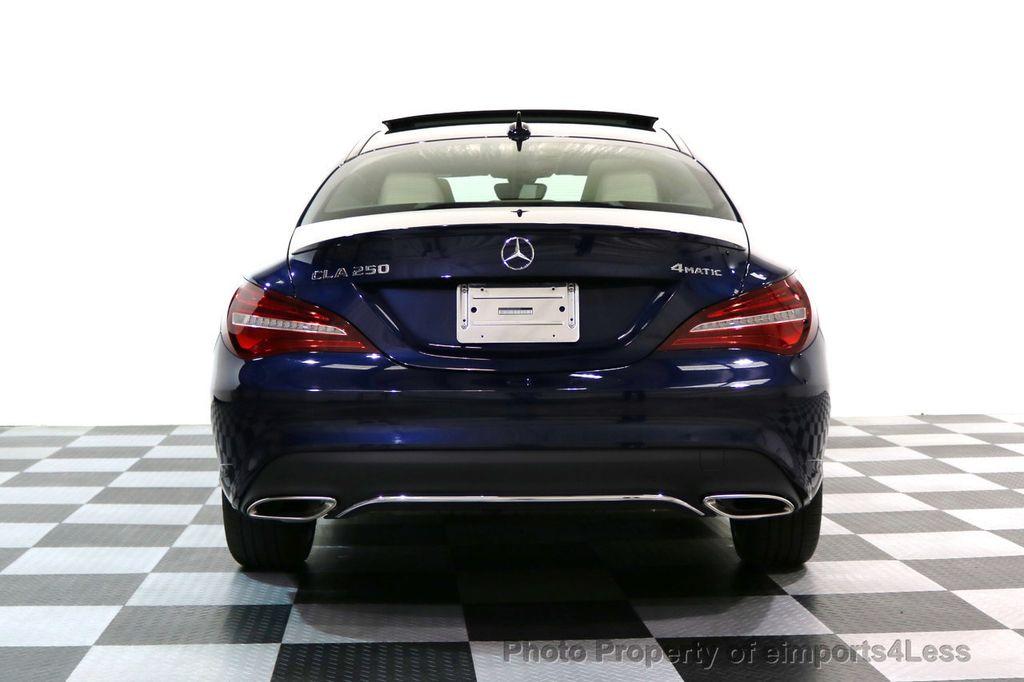 2018 Mercedes-Benz CLA CERTIFIED CLA250 4Matic AWD Adapt Suspension CAM NAV - 17614154 - 35