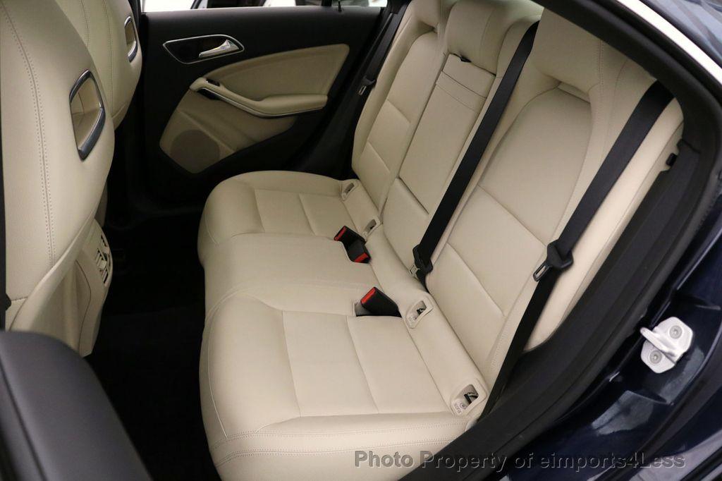 2018 Mercedes-Benz CLA CERTIFIED CLA250 4Matic AWD Adapt Suspension CAM NAV - 17614154 - 39