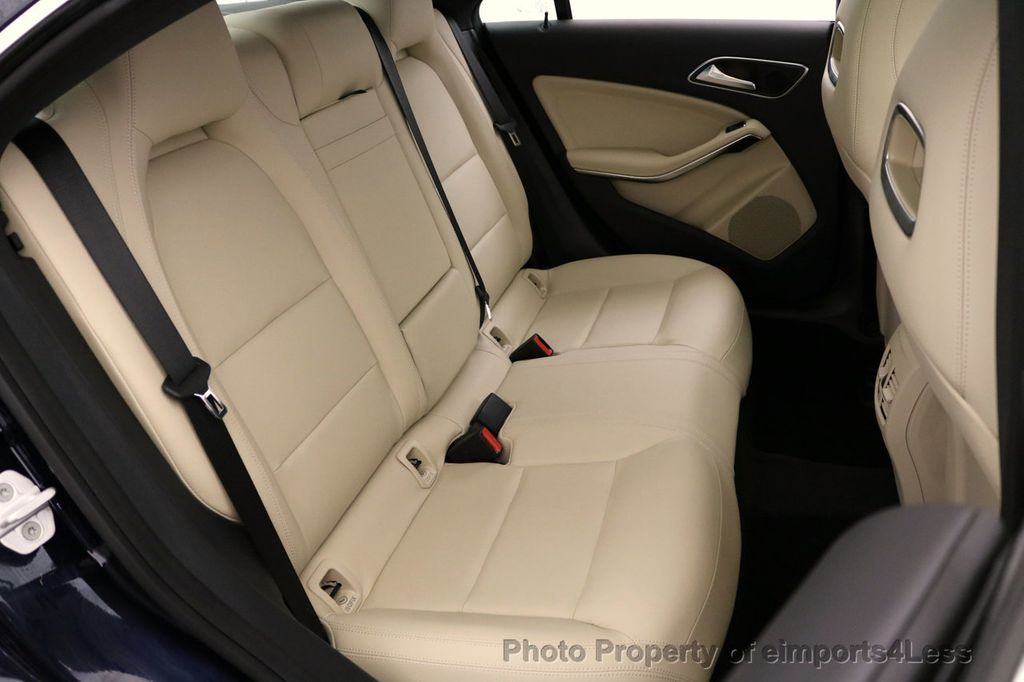2018 Mercedes-Benz CLA CERTIFIED CLA250 4Matic AWD Adapt Suspension CAM NAV - 17614154 - 40