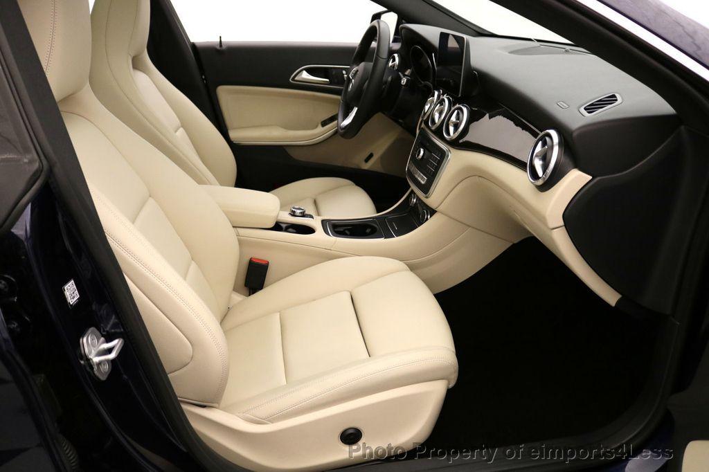 2018 Mercedes-Benz CLA CERTIFIED CLA250 4Matic AWD Adapt Suspension CAM NAV - 17614154 - 45