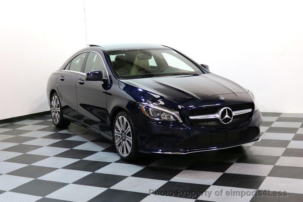 2018 Mercedes-Benz CLA CERTIFIED CLA250 4Matic AWD Adapt Suspension CAM NAV - 17614154 - 50
