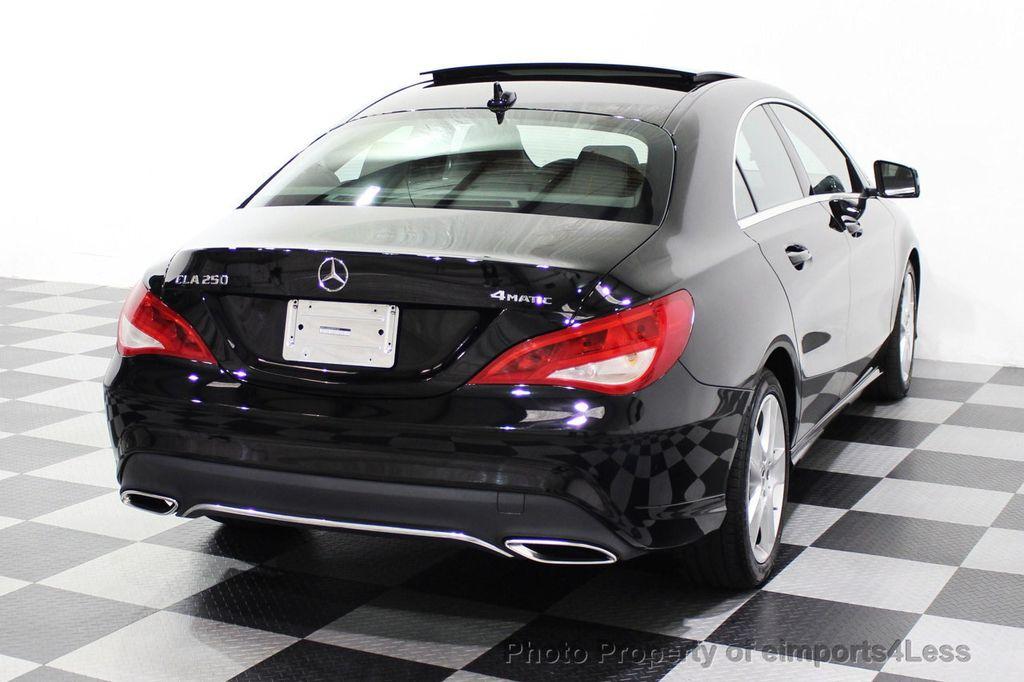 2018 Mercedes-Benz CLA CERTIFIED CLA250 4MATIC AWD PANO BRAKE ASSIST NAV CAM - 18315052 - 25