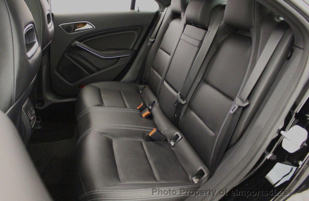 2018 Mercedes-Benz CLA CERTIFIED CLA250 4MATIC AWD PANO BRAKE ASSIST NAV CAM - 18315052 - 29