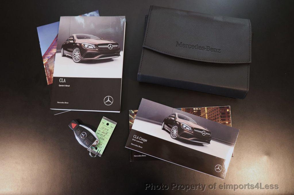 2018 Mercedes-Benz CLA CERTIFIED CLA250 4MATIC AWD PANO BRAKE ASSIST NAV CAM - 18315052 - 33