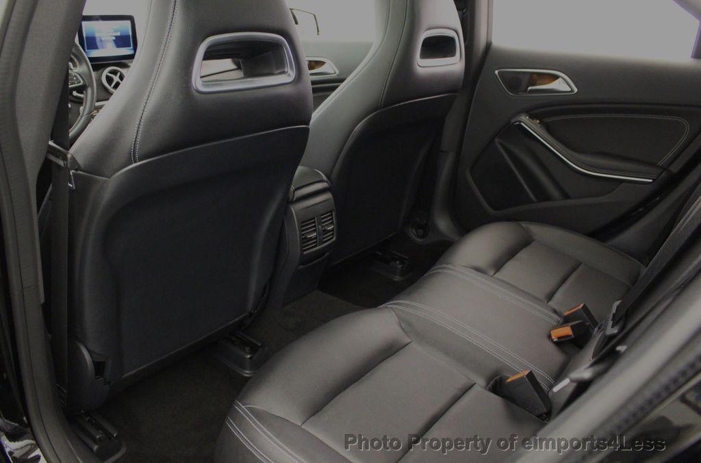 2018 Mercedes-Benz CLA CERTIFIED CLA250 4MATIC AWD PANO BRAKE ASSIST NAV CAM - 18315052 - 41