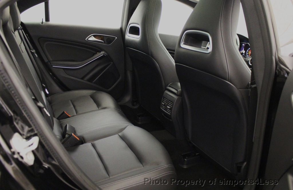 2018 Mercedes-Benz CLA CERTIFIED CLA250 4MATIC AWD PANO BRAKE ASSIST NAV CAM - 18315052 - 42