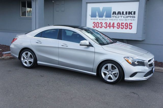 2018 Used Mercedes-Benz CLA CLA 250 4MATIC Coupe at Maaliki Motors Serving  Aurora, Denver, CO, IID 19156939