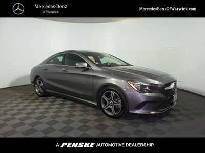 2018 Mercedes-Benz CLA CLA 250 4MATIC Coupe Sedan - Click to see full-size photo viewer
