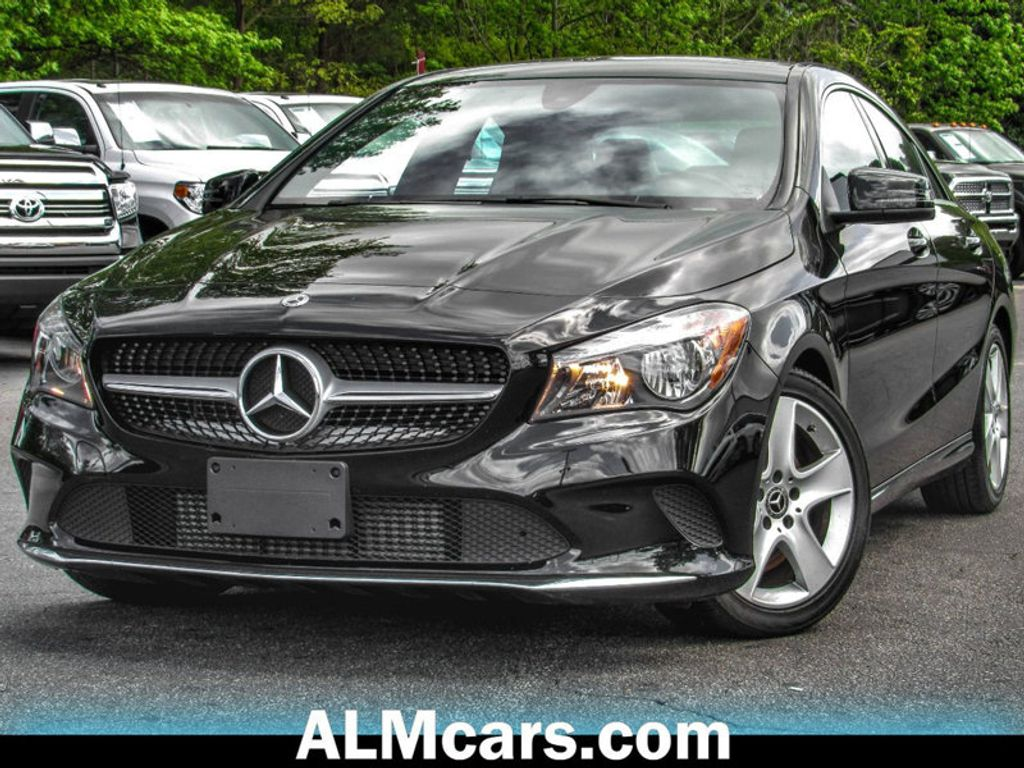 2018 used mercedes benz cla cla 250 coupe at atlanta. Black Bedroom Furniture Sets. Home Design Ideas