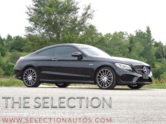 2018 Used Mercedes-Benz AMG C43 4Matic w/Advance Lighting & AMG Performance  Exhaust at The Selection Serving Kansas City & Topeka, KS, IID 19203421