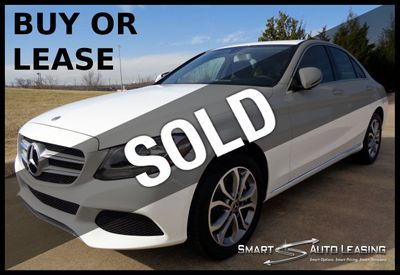 2018 Mercedes-Benz C-Class C 300 4MATIC w/ PREMIUM PKG, NAV PRE WIRE, SUNROOF - Click to see full-size photo viewer