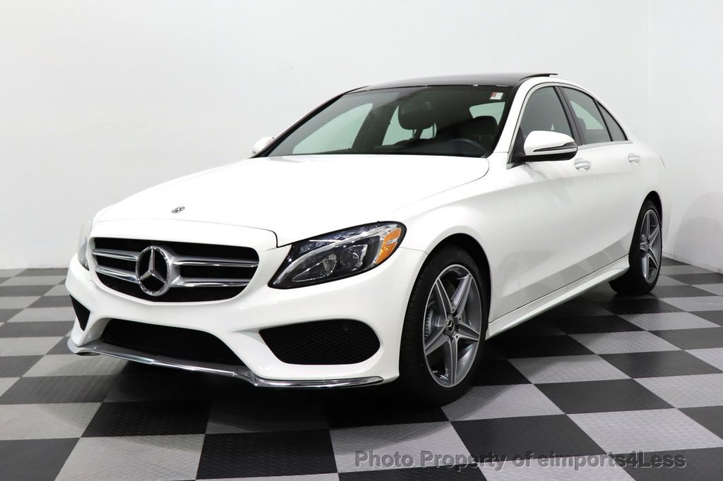 2018 Mercedes-Benz C-Class CERTIFIED C300 4MATIC AMG Sport Package LED BURMESTER PANO - 18346387 - 13