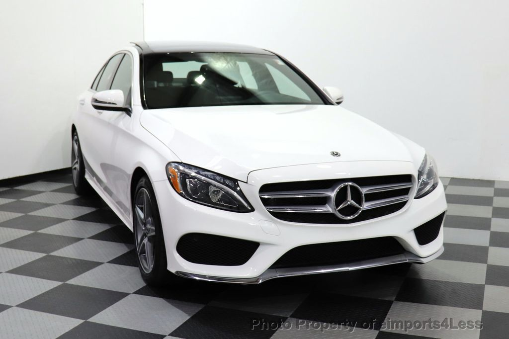 2018 Mercedes-Benz C-Class CERTIFIED C300 4MATIC AMG Sport Package LED BURMESTER PANO - 18346387 - 14