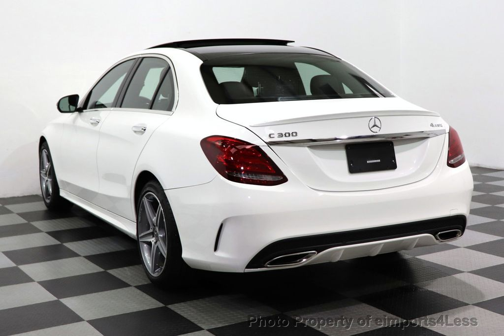 2018 Mercedes-Benz C-Class CERTIFIED C300 4MATIC AMG Sport Package LED BURMESTER PANO - 18346387 - 15