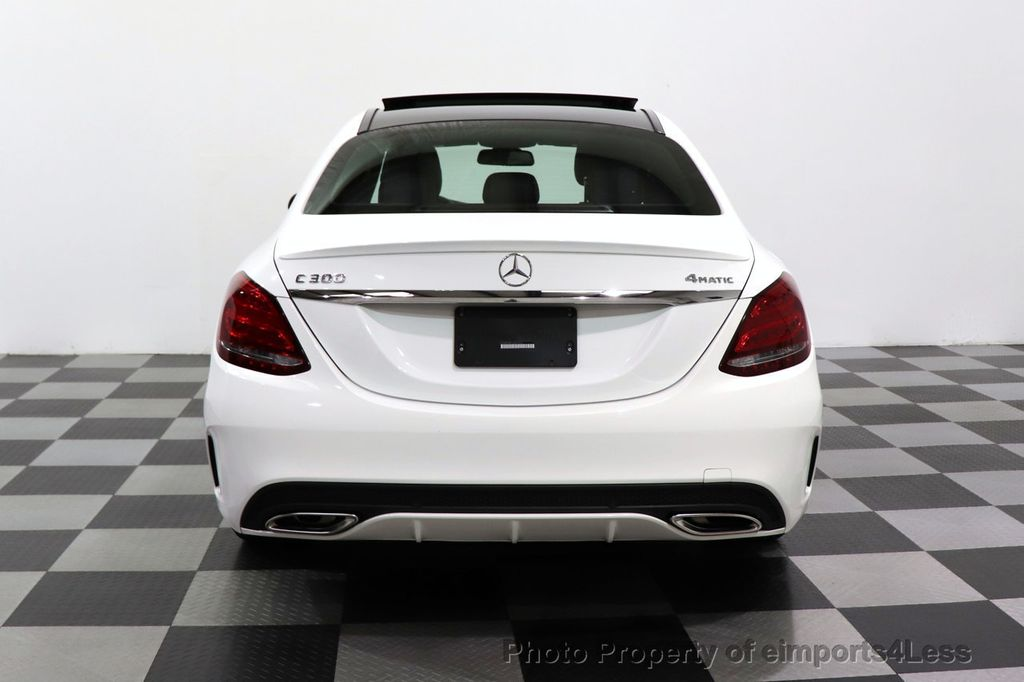 2018 Mercedes-Benz C-Class CERTIFIED C300 4MATIC AMG Sport Package LED BURMESTER PANO - 18346387 - 16
