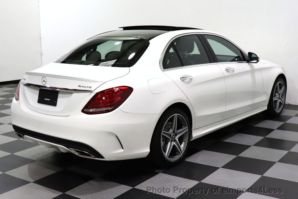 2018 Mercedes-Benz C-Class CERTIFIED C300 4MATIC AMG Sport Package LED BURMESTER PANO - 18346387 - 17