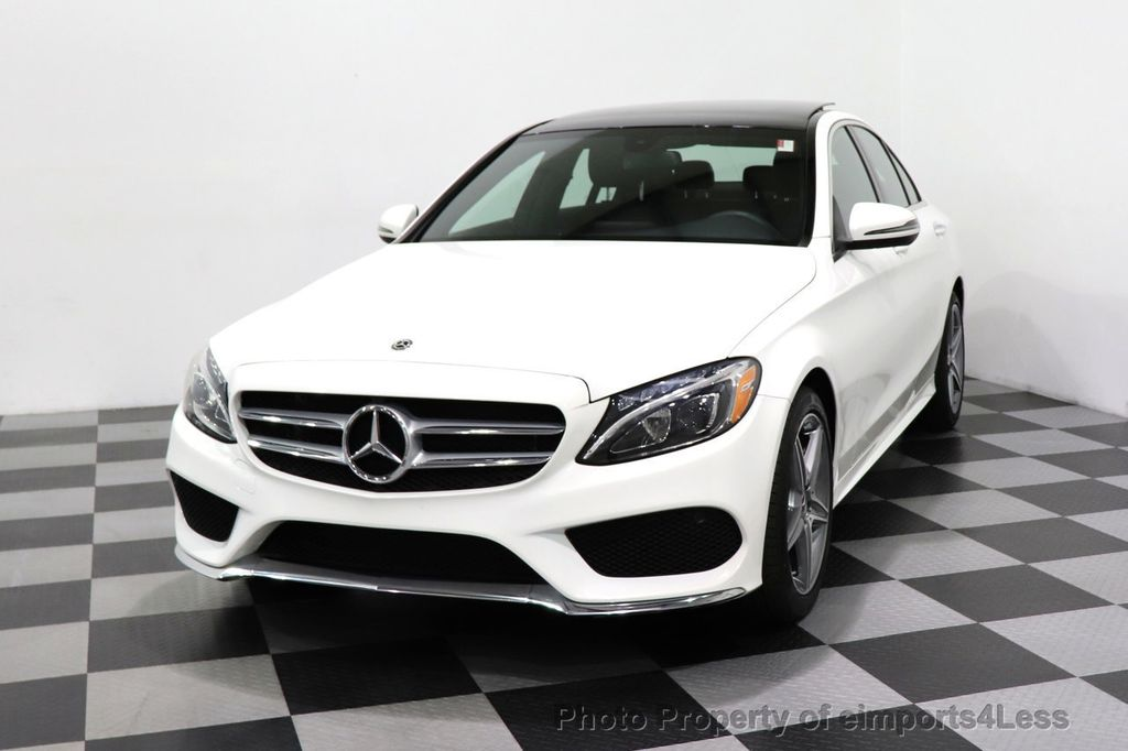 2018 Mercedes-Benz C-Class CERTIFIED C300 4MATIC AMG Sport Package LED BURMESTER PANO - 18346387 - 27
