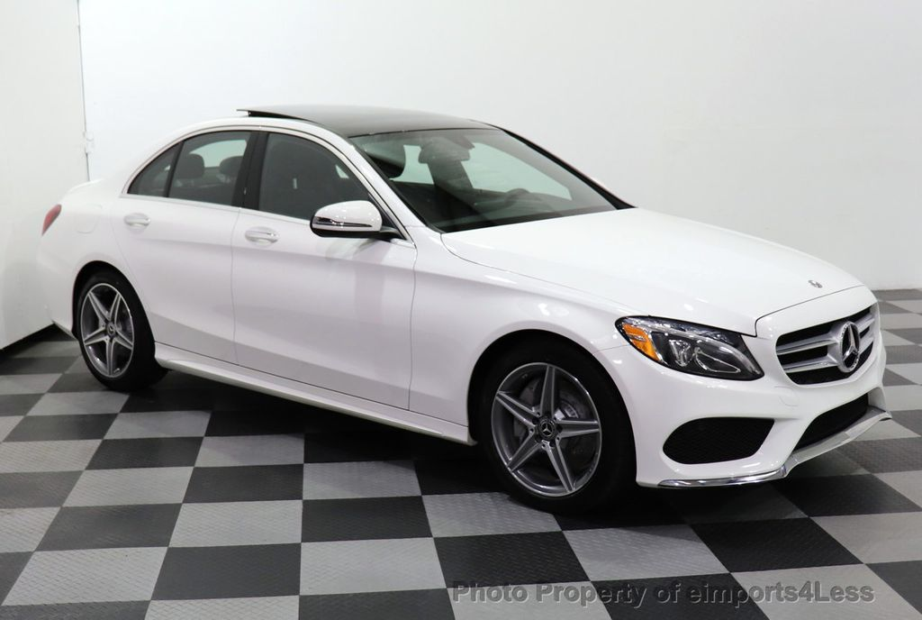 2018 Mercedes-Benz C-Class CERTIFIED C300 4MATIC AMG Sport Package LED BURMESTER PANO - 18346387 - 28