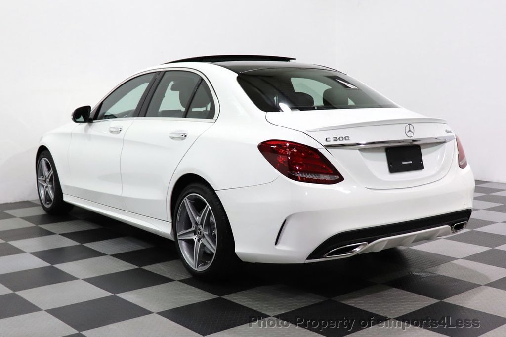 2018 Mercedes-Benz C-Class CERTIFIED C300 4MATIC AMG Sport Package LED BURMESTER PANO - 18346387 - 2