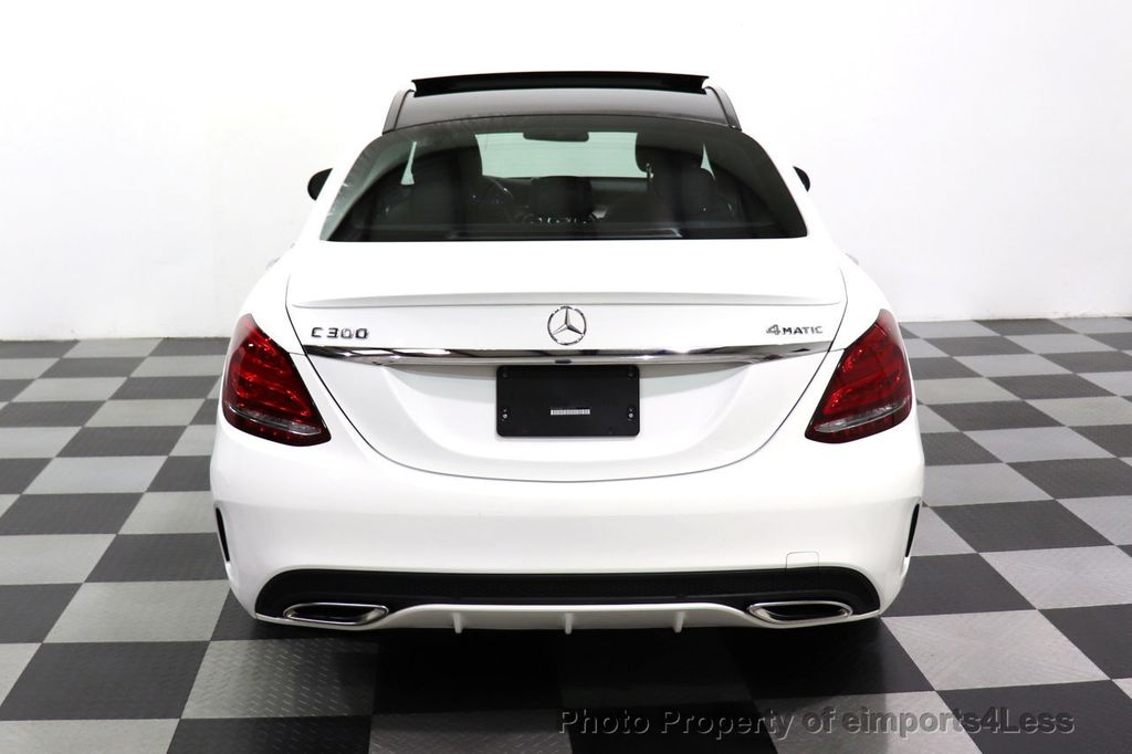 2018 Mercedes-Benz C-Class CERTIFIED C300 4MATIC AMG Sport Package LED BURMESTER PANO - 18346387 - 30