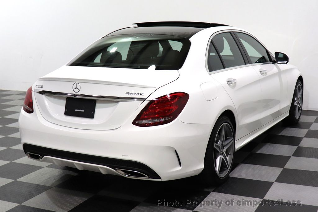 2018 Mercedes-Benz C-Class CERTIFIED C300 4MATIC AMG Sport Package LED BURMESTER PANO - 18346387 - 31