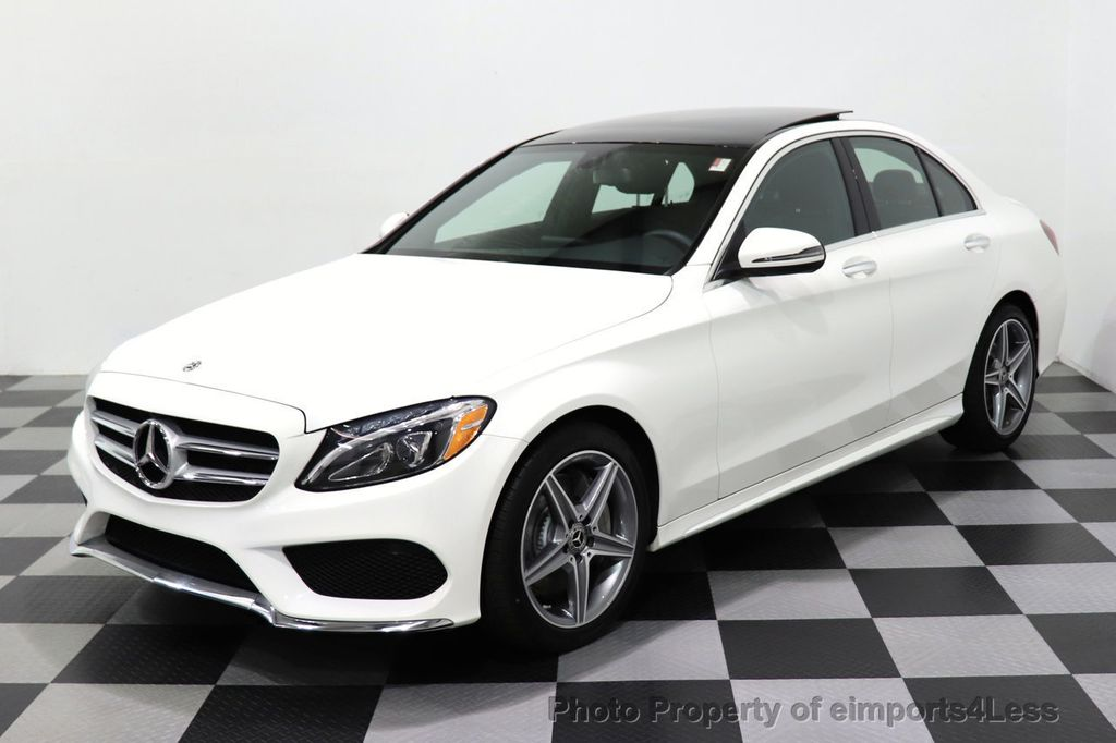 2018 Mercedes-Benz C-Class CERTIFIED C300 4MATIC AMG Sport Package LED BURMESTER PANO - 18346387 - 43