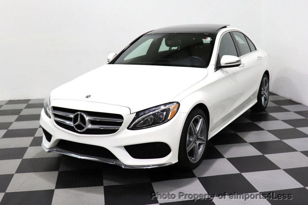 2018 Mercedes-Benz C-Class CERTIFIED C300 4MATIC AMG Sport Package LED BURMESTER PANO - 18346387 - 44