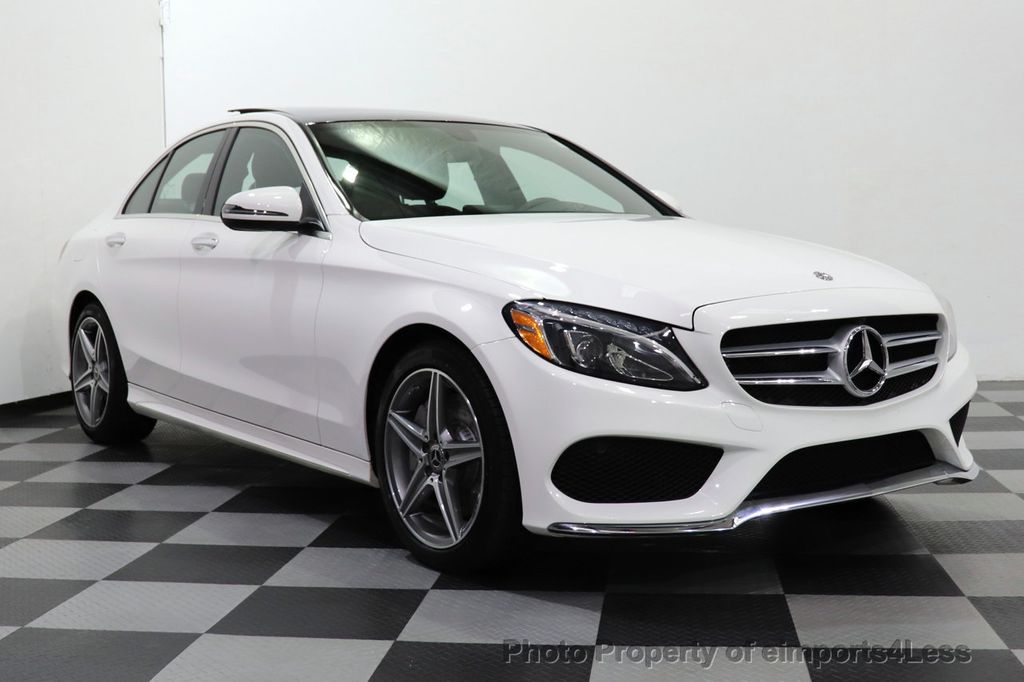 2018 Mercedes-Benz C-Class CERTIFIED C300 4MATIC AMG Sport Package LED BURMESTER PANO - 18346387 - 45