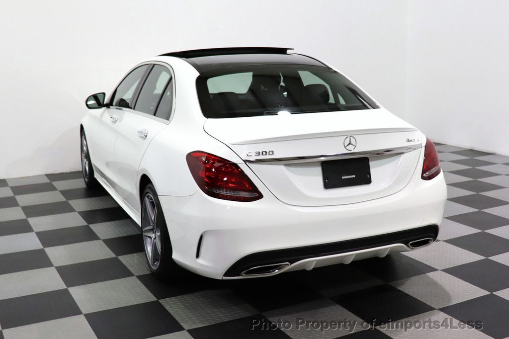 2018 Mercedes-Benz C-Class CERTIFIED C300 4MATIC AMG Sport Package LED BURMESTER PANO - 18346387 - 46