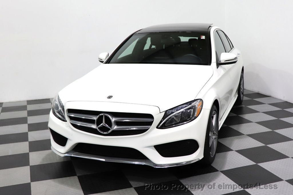 2018 Mercedes-Benz C-Class CERTIFIED C300 4MATIC AMG Sport Package LED BURMESTER PANO - 18346387 - 52