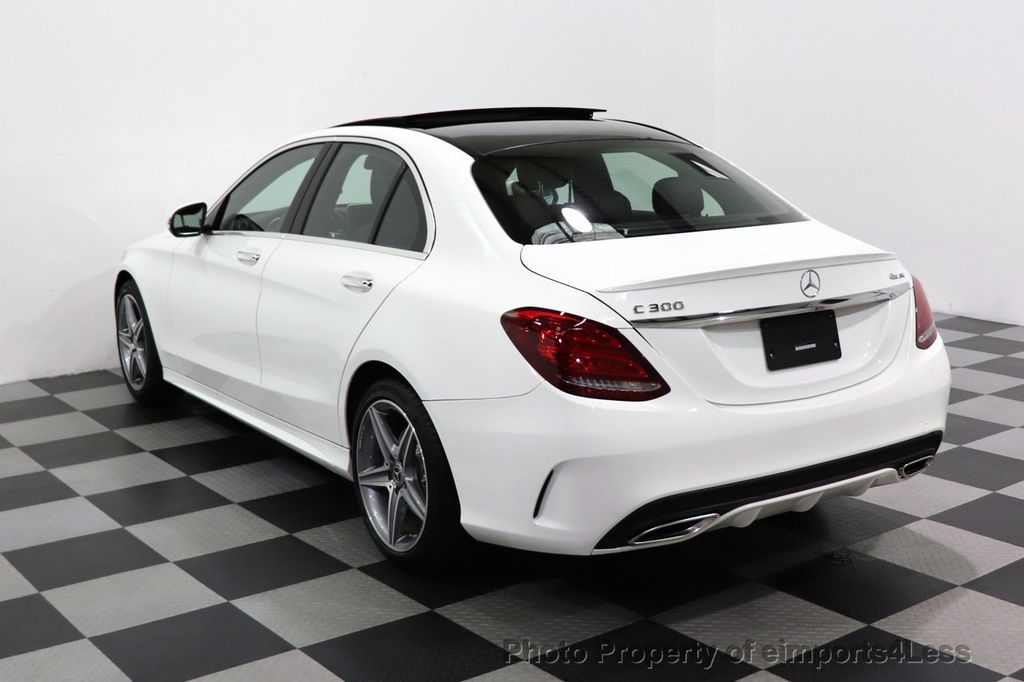 2018 Mercedes-Benz C-Class CERTIFIED C300 4MATIC AMG Sport Package LED BURMESTER PANO - 18346387 - 53