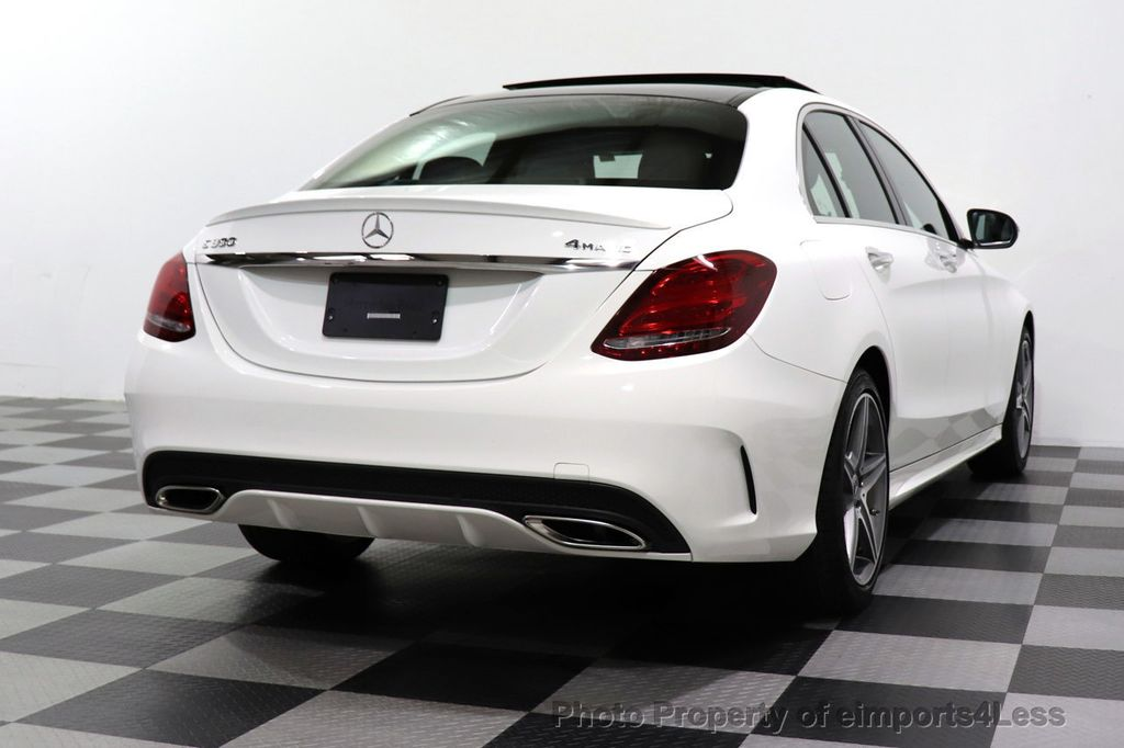 2018 Mercedes-Benz C-Class CERTIFIED C300 4MATIC AMG Sport Package LED BURMESTER PANO - 18346387 - 54