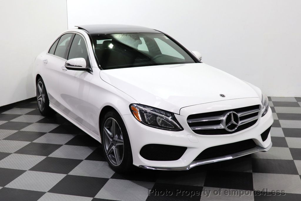 2018 Mercedes-Benz C-Class CERTIFIED C300 4MATIC AMG Sport Package LED BURMESTER PANO - 18346387 - 55